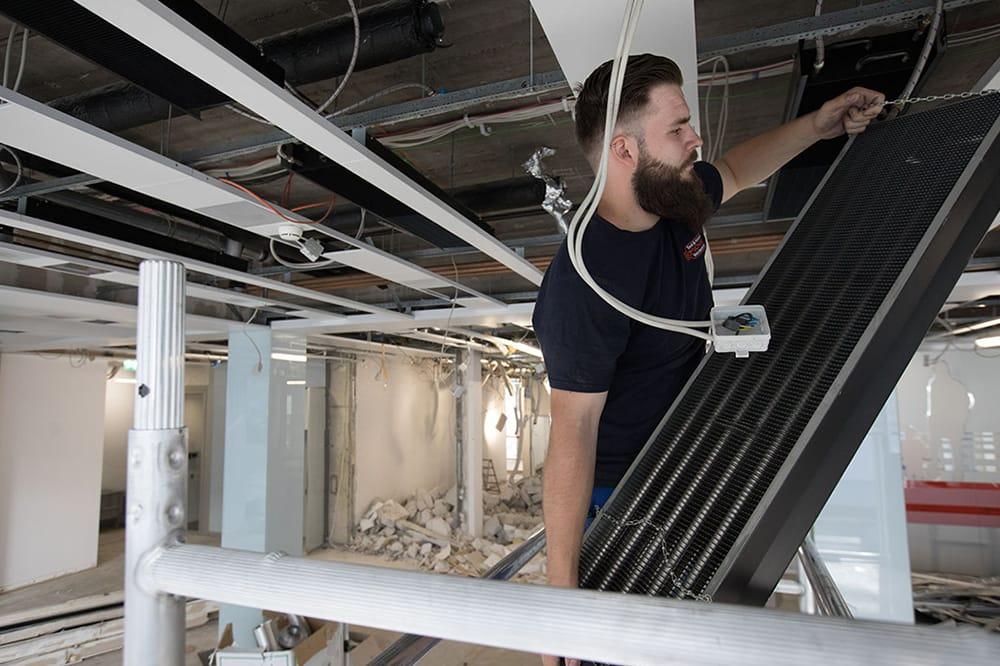 Installation für Sanitäre Anlagen
